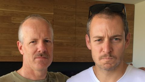 Ant and Sam - Movember